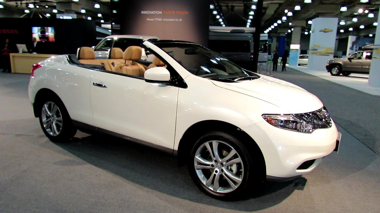 2012 nissan murano cross cabriolet convertable exterior and 2012 nissan murano cross cabriolet convertable exterior and interior at 2012 new york auto show youtube vanachro Gallery