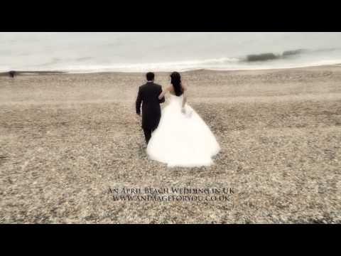 Beach Wedding in UK by Berkshire Videographer