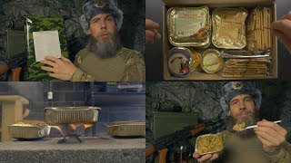 Russian Military MRE with Comrade Yuri | ASMR