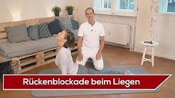 ⚡️ Blockade des Rückens beim Liegen | Liebscher & Bracht | Rückenschmerzen