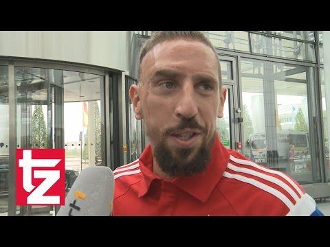 FC Bayern München: Franck Ribéry im Interview vor USA-Tour (30.07.2014)