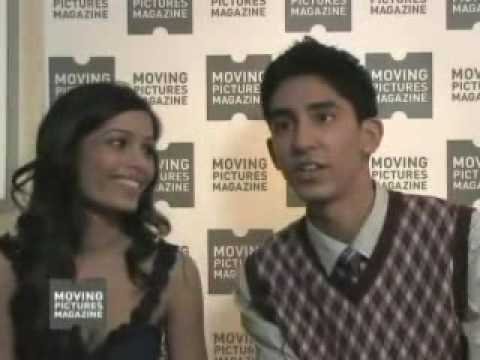Dev Patel And Freida Pinto Interview With Moving Pictures About