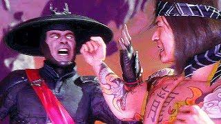Mortal Kombat 11 All Raiden Vs. Liu Kang Fight Cutscenes (MK11)