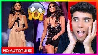 Download lagu Proof Selena Gomez CAN Sing - Best Live Vocals, No Autotune Reaction