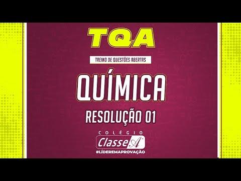 TQA - Química - Priscila - Resolução 01