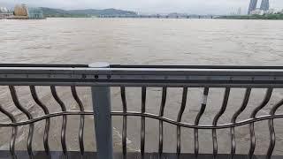 서울 호우경보 잠수교 통행제한 한강범람