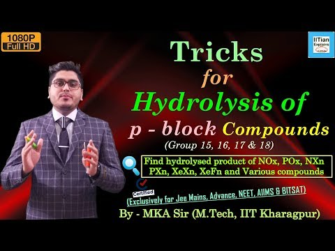 Tricks for Hydrolysis of p Block Compounds | Inorganic Chemistry Tips |Jee Mains, Advance & NEET