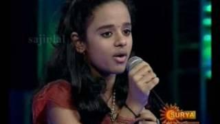 Poornasree: Kannu Thurakkanum Sami... Performance in Sangeetha Maha Yudham Finale