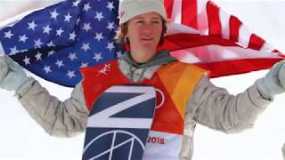 Tribute to Red Gerard, Chloe Kim, and the US Snowboard team.