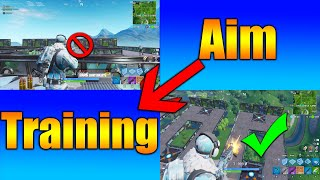 Fortnite Aiming Drill