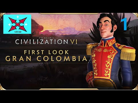 First Playthrough Gran Columbia Civ 6 Apocalypse Mode-part 1 |