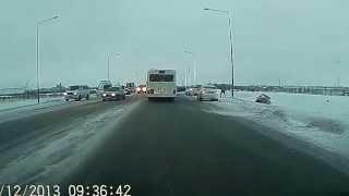 Авария в Астане  трасса Астана Караганда