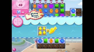 How to beat level 1155 on Candy Crush Saga!!