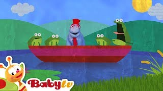 1, 2, 3 ! 4 Green Frogs on a Red Boat | BabyTV