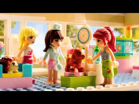 Lego Friends 2012 Heartlake City Vet Commercial Youtube