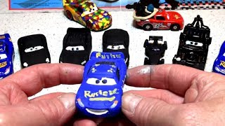 Pixar Cars Customs Lightning McQueen Back to the Future Car Custom Painted Diecast Car from Pixar