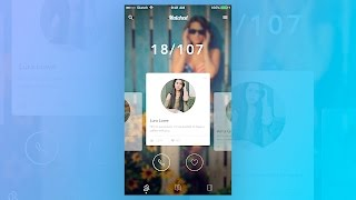 Sketch 3 - UI Design for Matched Mobile Application (Timelapse)