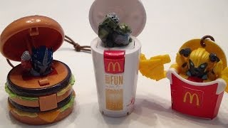 MCDONALD'S TRANSFORMERS PRIME IMPORT HAPPY MEAL TOY VIDEO REVIEW