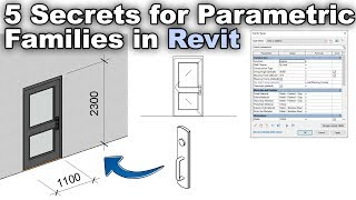 5 Tips and Tricks for Parametric Revit Families Tutorial