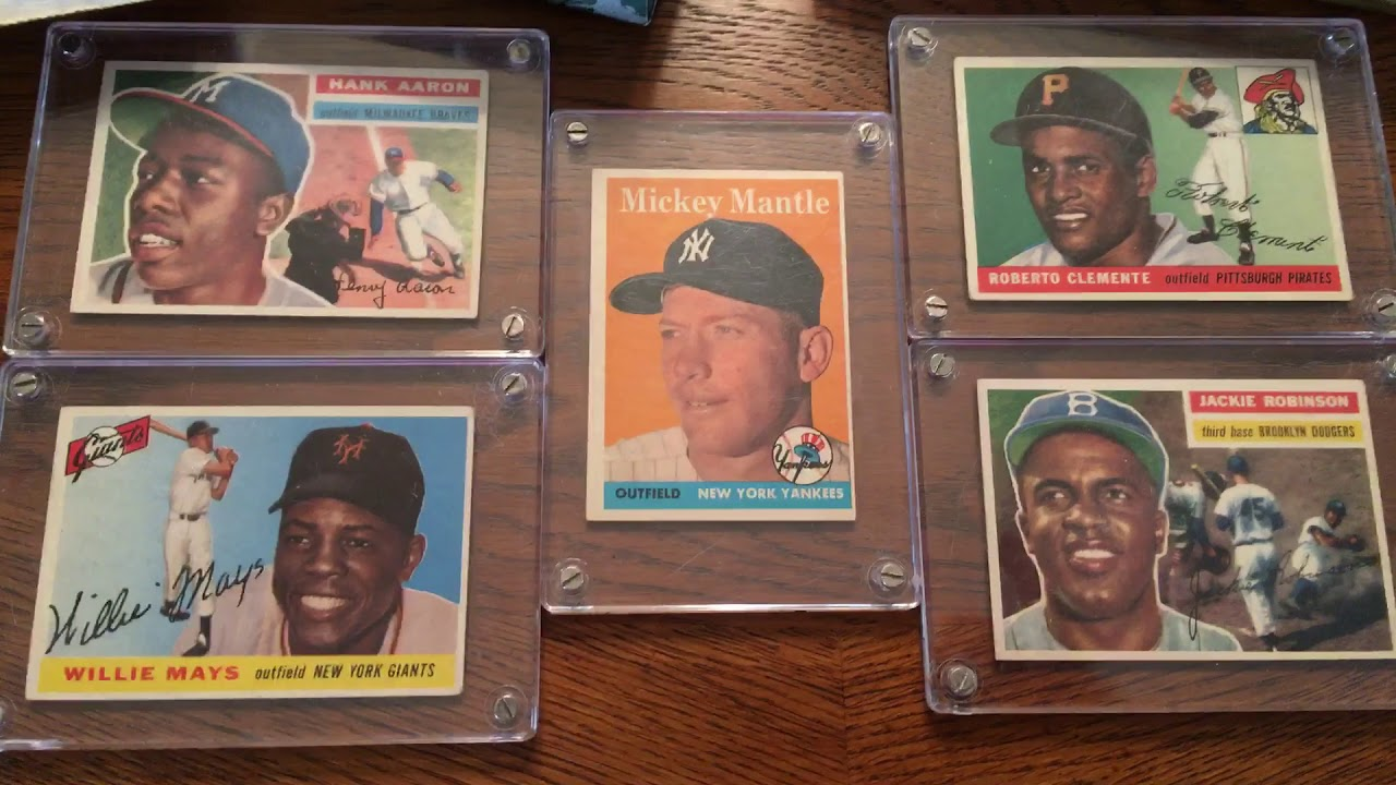Epic Vintage Baseball Card Collection Blew Me Away