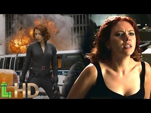 Black Widow All Fight Scenes - MCU Including Captain America Civil War | HD 1080
