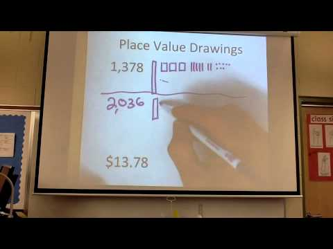Place Value Drawings Math Video 5 Youtube