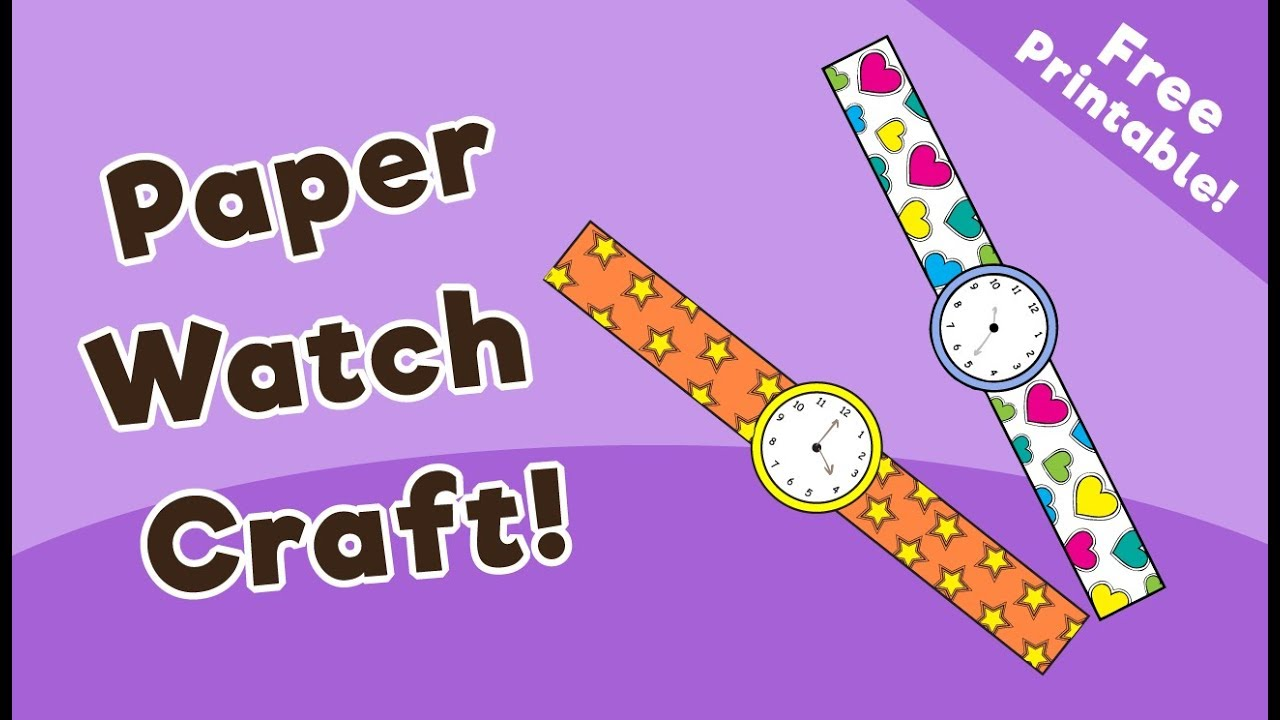 image regarding Printable Craft for Kids titled Paper Check Craft for Young children - 10 Minutes of Good quality Period