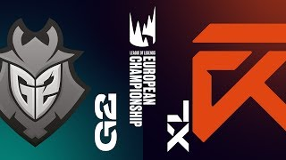 G2 vs XL | LEC WIOSNA 2019 | tydzień 2 dzień 1 | G2 Esports vs Excel Esports