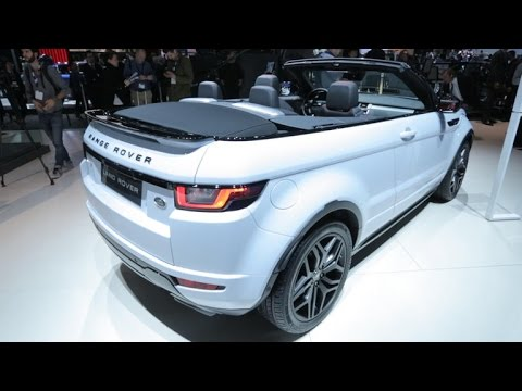 Range Rover Evoque Convertible >> Car Tech - The 2017 Range Rover Evoque Convertible: A ...