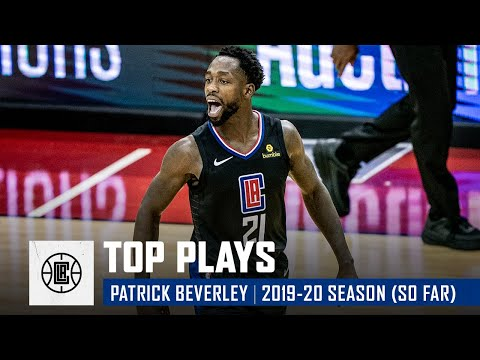 Patrick Beverley's Top Plays of the 2019-20 Regular Season (So Far) | LA Clippers