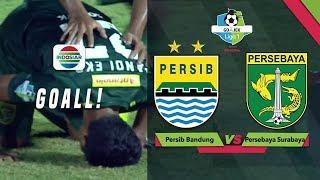 Goal Fandi Eko U. - Persib Bandung (1) vs (3) Persebaya Surabaya | Go-Jek Liga 1 Bersama Bukalapak