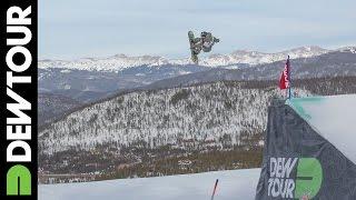 Jamie Anderson, Snowboard Slopestyle Final: Winning Run, 2014 Dew Tour Mountain Championships