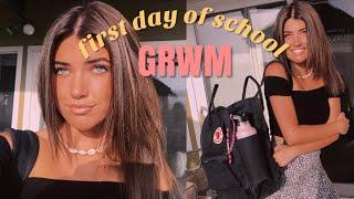 FIRST DAY OF HIGH SCHOOL JUNIOR YEAR GRWM
