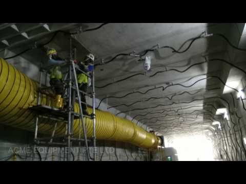 Singapore Rectangle TBM Grouting Bentonite Acme Equipment