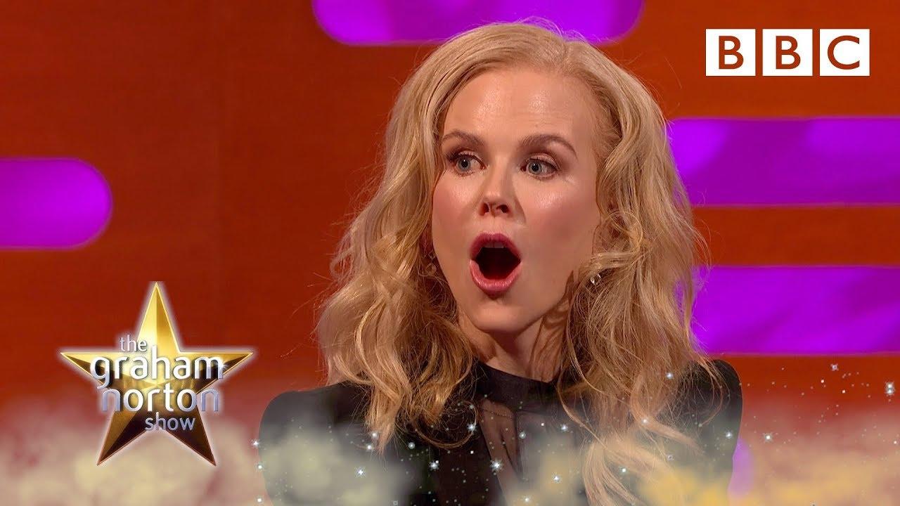 Nicole Kidman's shoc...