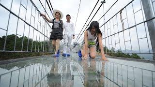 видео: Largest Glass Bridge Worldwide in China