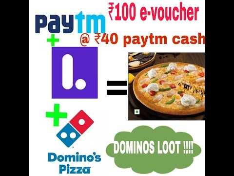 Domino's loot+ Paytm loot for Pizza