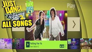 Just Dance Disney Party 2 -All Songs , Full Songlist [ HD ]