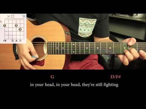 The Cranberries - Zombie DEMO - Cover Guitarra  (HD)