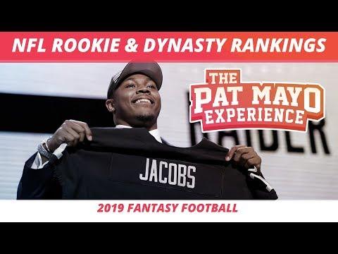 2019 Fantasy Football — NFL Rookie Rankings And Dynasty Rankings
