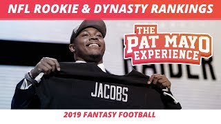 2019 Fantasy Football — NFL Rookie Rankings and Dynasty Rankings