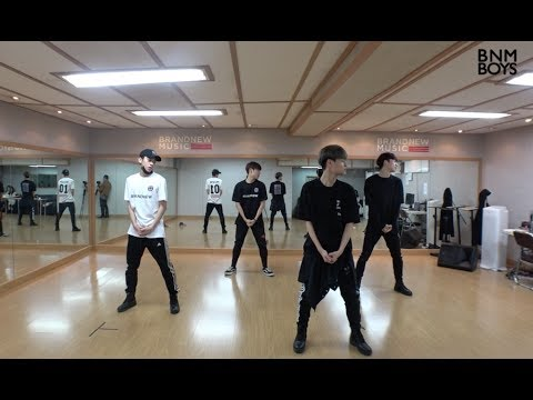 bnm boys hollywood 39 dance practice video youtube. Black Bedroom Furniture Sets. Home Design Ideas