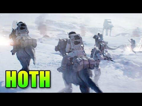 Star Wars Battlefront 2 - Hoth Gameplay