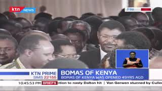 Symbolism of Bomas of Kenya in the country's constitutional review