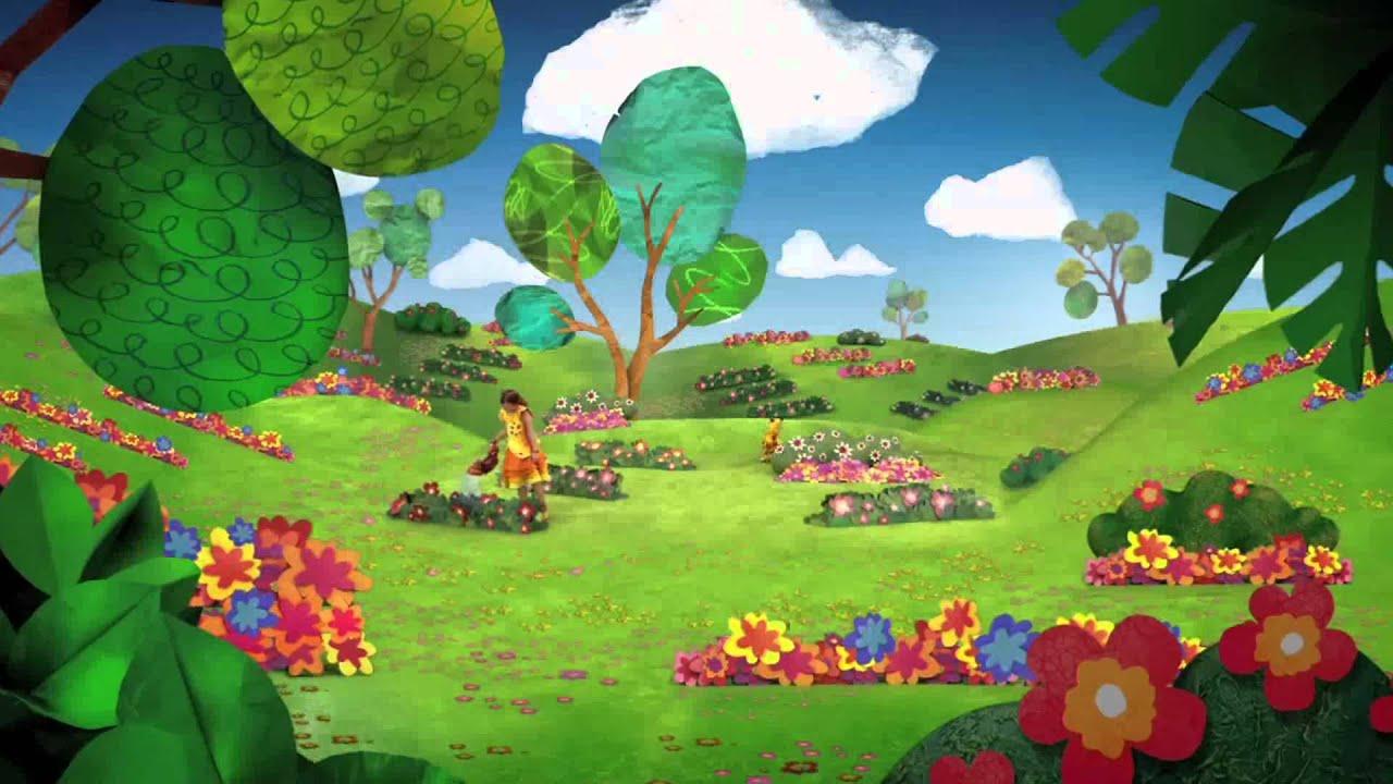 Wallpapers 3d Hello Kitty Gratis El Jardin De Clarilu Hd Aeiou Youtube