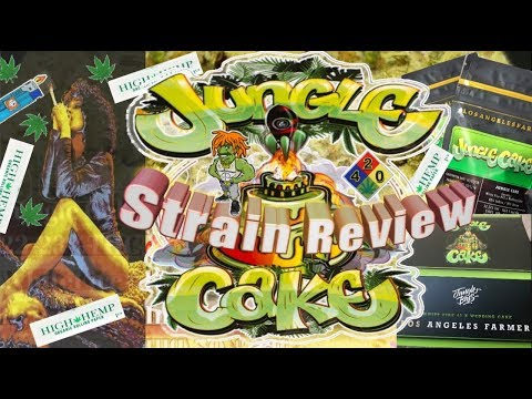 Jungle Cake Strain Review 4k OGB 4420