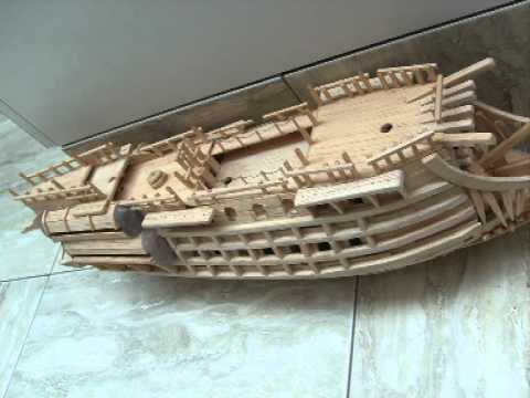 Flying dutchman model ship ⚓
