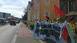 Mitarbeiterproteste bei WMF in Geislingen
