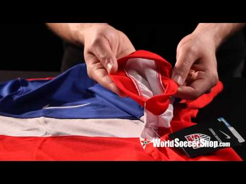 Nike USA 2014 Authentic Away Soccer Jersey - Unboxing