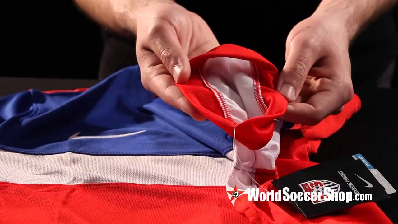 c2a4bd3bce4 Nike USA 2014 Authentic Away Soccer Jersey - Unboxing - YouTube